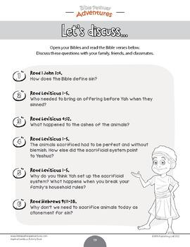 Vayikra | Leviticus Torah Portions Activity Book