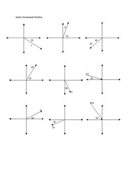 Vector Components Practice