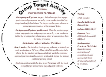 Vector (HS Geo) Group Target Activity