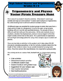 Make Multiple Vectors Fun! Pirate Treasure Hunt - Physics, Trigonometry