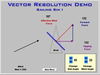 Physics - Vector Resolution Demo Software