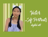 Vector Self Portrait Presentation