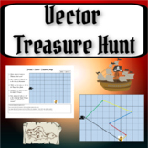 Vector Treasure Hunt!  Drawing Vectors Activity for Physic