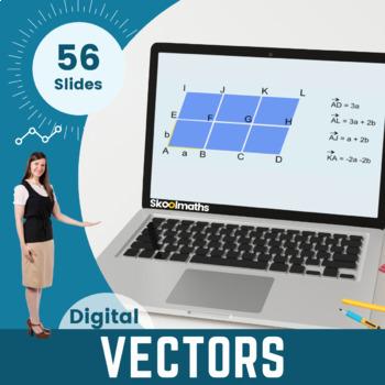 Vectors - 9th - 10th grades, (UK GCSE Higher)