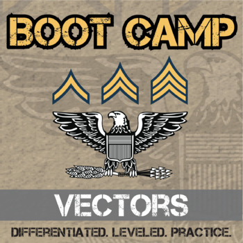 Vectors Boot Camp -- Differentiated Practice Assignments