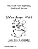Vectors - Component Form, Magnitude and Direction