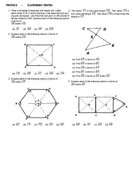 Vectors – Euclidean Vector