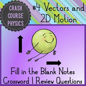 Vectors and Two Dimensional Motion (Crash Course Physics Notes #4)