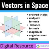 Vectors in Space