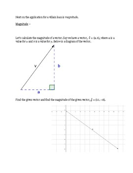 Vectors in the Plane and Space Lesson 1