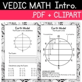 Vedic Math Introduction Pack Includes a 2 Page .pdf and 10
