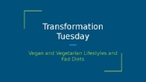 Vegan, Vegetarian, and Fad Diets PowerPoint