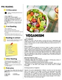 Veganism - Reading Comprehension for English & ESL Classrooms