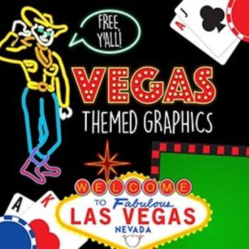 Vegas Clip Art Freebies {Watson Works Clip Art/ Graphics}