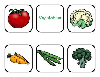 Vegetable Bingo