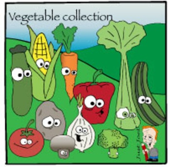 Vegetable Clipart Collection