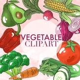 Vegetable Clipart by Taracotta Sunrise