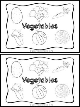 Vegetable Emergent Reader