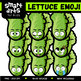 Vegetable Emoji Clip Arts COLOSSAL Bundle