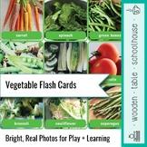 Vegetable Flash Cards