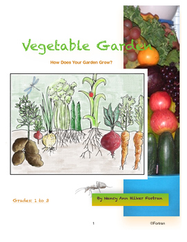 Superb Vegetable Garden Art Lesson For 1St 2Nd And 3Rd Grades Mixed Media Download Free Architecture Designs Jebrpmadebymaigaardcom