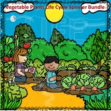 Vegetable Garden Life Cycle Spinner Bundle #1