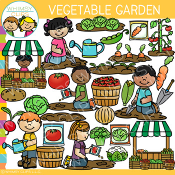 Garden Vegetables Clip Art