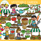 Vegetable Garden Clip Art {Spring Clip Art}