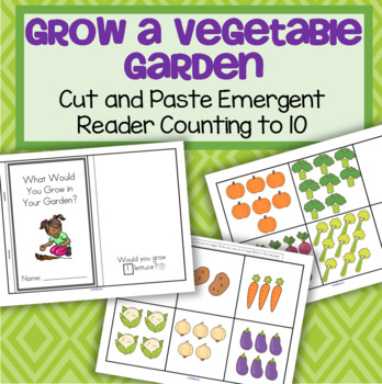 Vegetable Garden Emergent Reader FREE