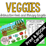 Vegetable Garden Interactive Book and Therapy Targets! DIG