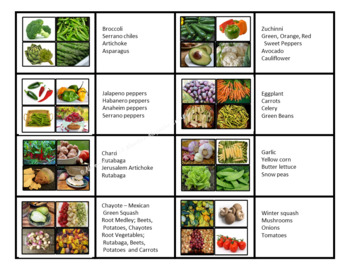 Vegetable Photo Images - Imágenes de verduras