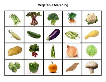 Vegetable Match