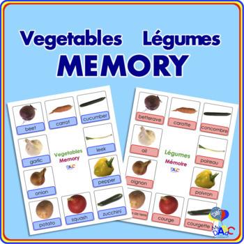 Vegetables | Légumes MEMORY