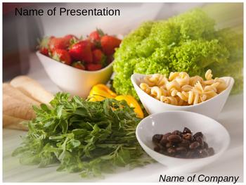 Vegetable PowerPoint Template