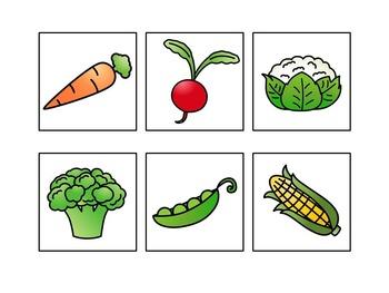 Vegetable Sentence Completion Book