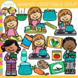 Vegetable Soup Clip Art