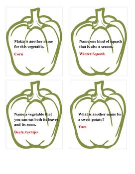 Vegetable Trivia