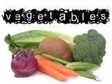 Vegetable Unit Bundle for Culinary Arts Course includes ppt, notes, etc