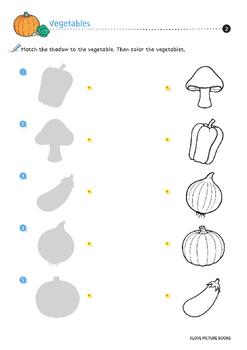 Vegetable Worksheets / Activities *Printables*