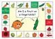 Vegetable or Fruit Game board