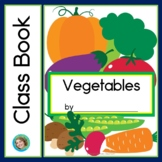 Vegetables Class Book with Sight Words