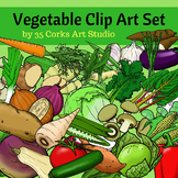 Vegetables Clip Art - 49 different vegetables! Yum!