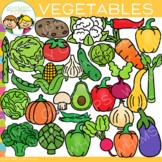 Vegetables Clip Art {Food Group Clip Art}