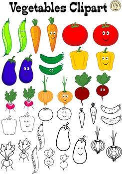Vegetables Clipart