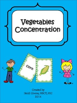 Vegetables Concentration