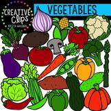 Vegetables {Creative Clips Digital Clipart}