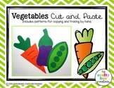 Vegetables Craft | Nutrition Craft Activity | Letter V Alphabet Activities