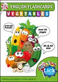 Vegetables - English Flashcards