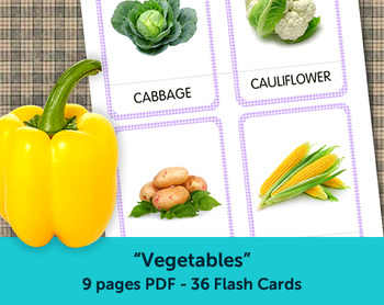 image relating to Printable Vegetables referred to as Greens Flash Playing cards, Printable Playing cards, Flashcards for Little ones, Kindergarten playing cards