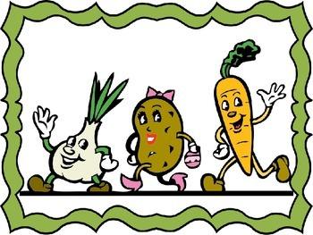 Vegetables (Flashcards)